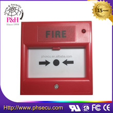 Fire manual call point with LED indicator