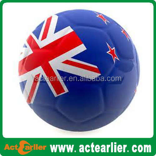 custom size 5 football billiard soccer ball