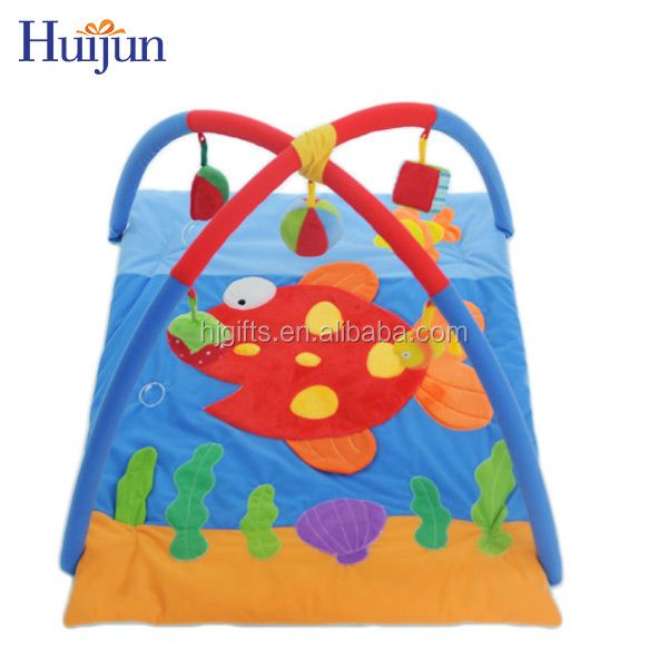 Wholesale High Quality Soft Musical Baby Play Mat gym for Kids