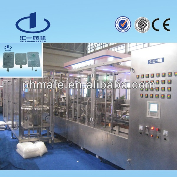 Pharmaceutical Infusion Fluids FFS Manufacturing Equipment
