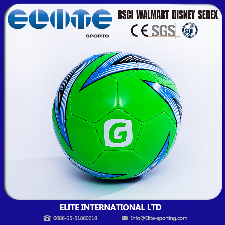 ELITE--Custom Logo Printing size 5 rubber soccer ball for UEFA Champions League