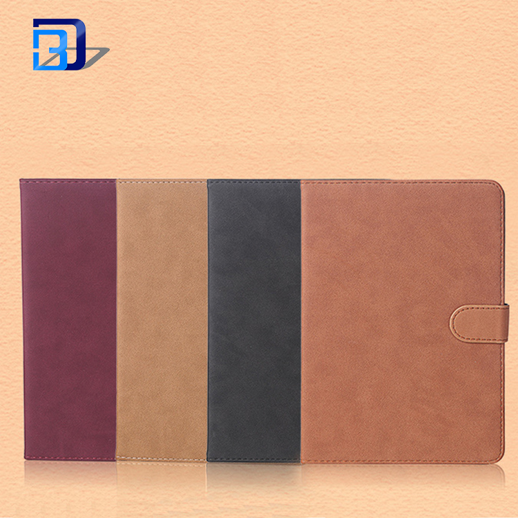 Popular England Retro style Vintage protective shell Folding Stand tablet case PU+PC for iPad Air 2