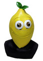 Fancy dress Latex Cartoon lemon Mask for advertising Costume