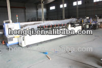 Plastic bagging making machine