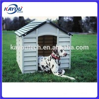 OEM wood plastic dog house case pet house moulding manufacturer