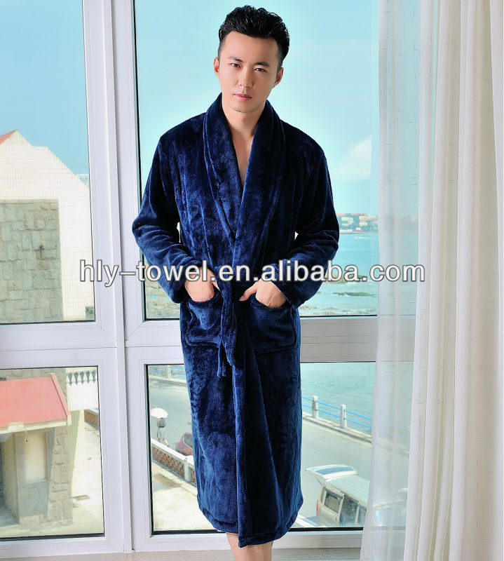 100% polyester coral fleece winter overalls robe with new style