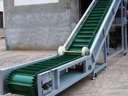 INCLINE BELT CONVEYOR FOR WOOD PELLET