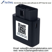 gps with navteq maps [2G, 3G, 4G] support OBD II, canbus