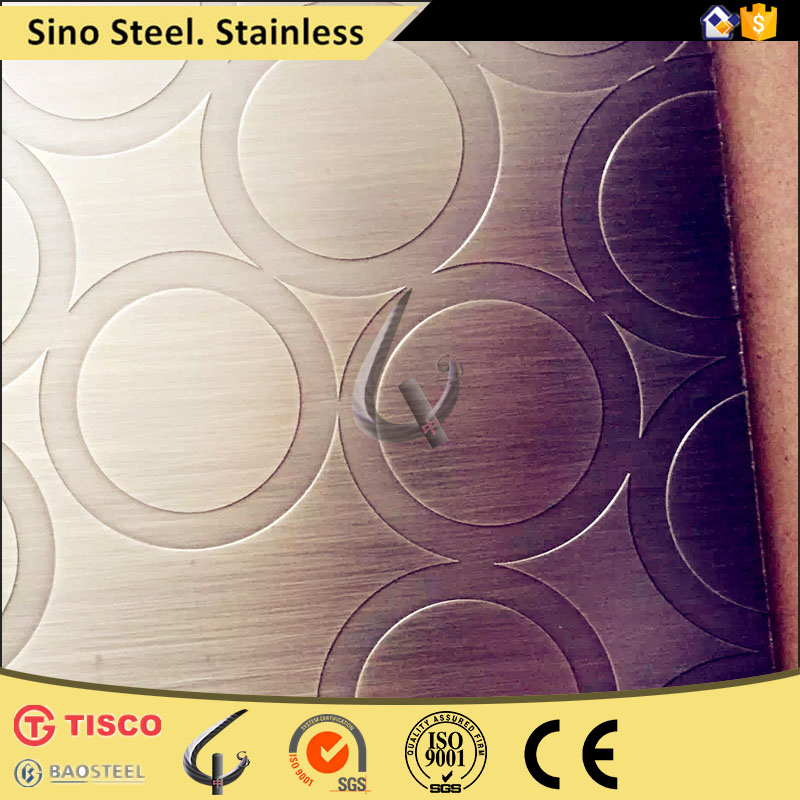SUS304 surface mirror Stainless Steel decorative Sheets