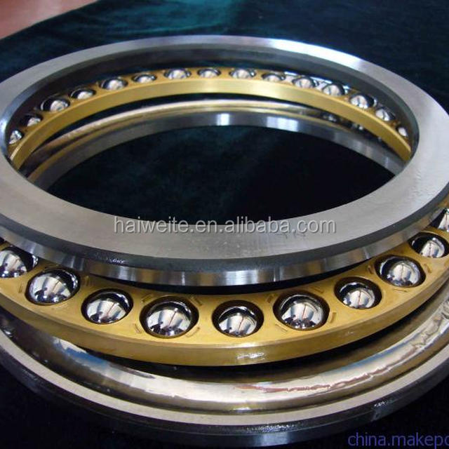 42-0022 thrust ball bearing with nylon cage double direction full shield steel miniature axial load thrust ball
