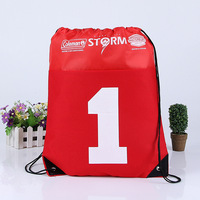 wholesale cotton fabric drawstring bag for travelling/camping/sporting