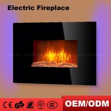 Good Quality Black Granite Fireplace Hearth Mantel