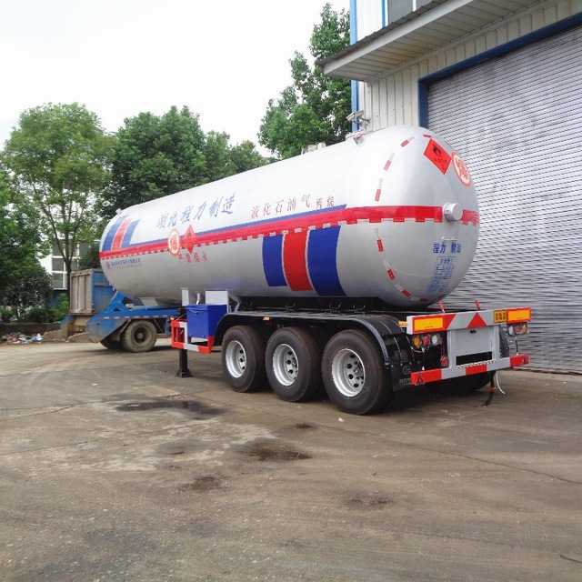 ASME standard tank body CLW high quality 42000 45000 60000 liters propane tank semi trailer for sale in Nigeria