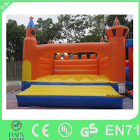2016 christmas attractive frozen inflatable bounce house slide