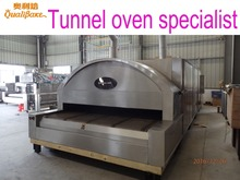 Professional manufacturer of bakery equipment offers biscuit baking tunnel oven design using gas