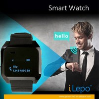 New Bluetooth wristband watch phone Health Fitness smart watch phone gsm with Pedometer Support Phone Talking