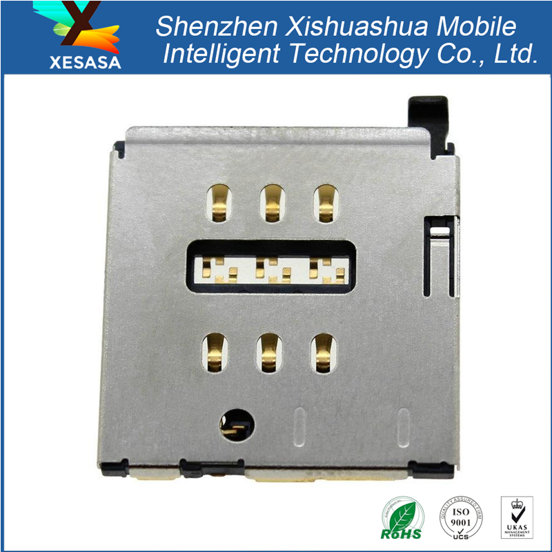 Micro SD Sim Card Tray Connector Socket for iPhone 6S Plus 5.5