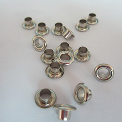 Wholesale Custom Made Golden Color Oval Brass Eyelets And Grommets