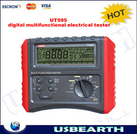 HOT SALE!!! UT595 digital multifunction electrical tester Voltage Resistance Loop Phase consequence impedance RCD measurement