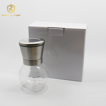 Attractive and durable sea salt and pepper grinder