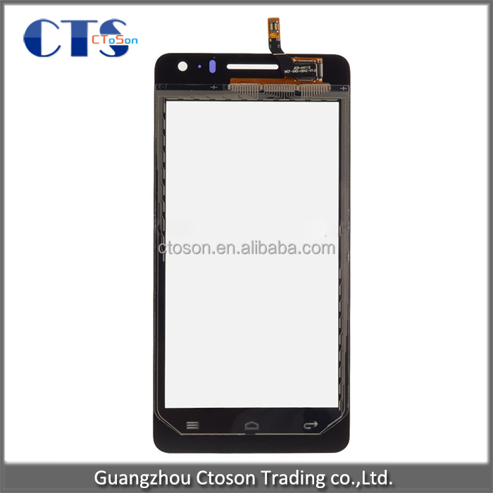 tested replacement mobile phone spare parts for huawei ascend g600 touch screen digitizer with frame cheap in original quality