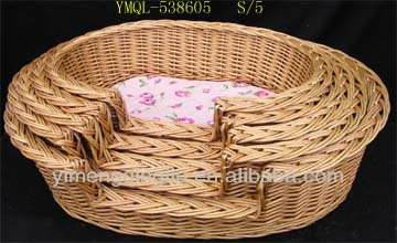 Good SellingWillow Baskets for Pets with Delicate Design