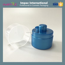 Unique cosmetic plastic 25ml PP airless jar with pump dispenser