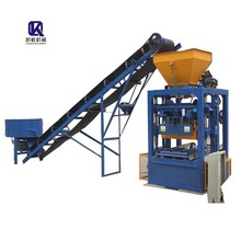 interlocking KAIDONG BRAND Wholesale Price Manual Concrete Brick Making Machine QT4-23A with High Quality production line