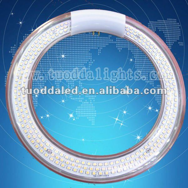 SMD 3528 LED circular tube with bulit-in Driver CE&ROHS