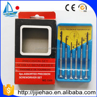 6pc cheap Precision Mobile Phone Screwdriver Set for Cell Phone Repair