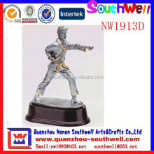 hot sale custom design resin sports action figure