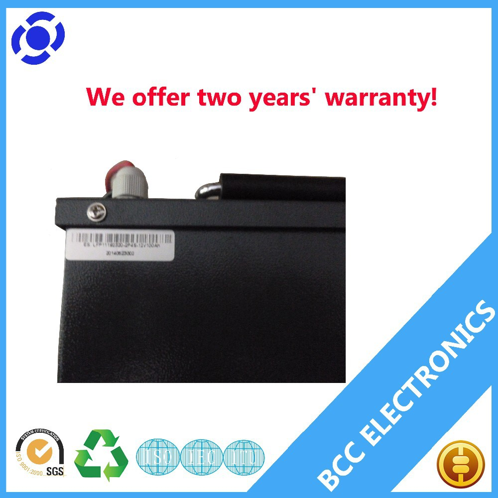 12v 100ah deep cycle lithium ion battery lifepo4 battery pack