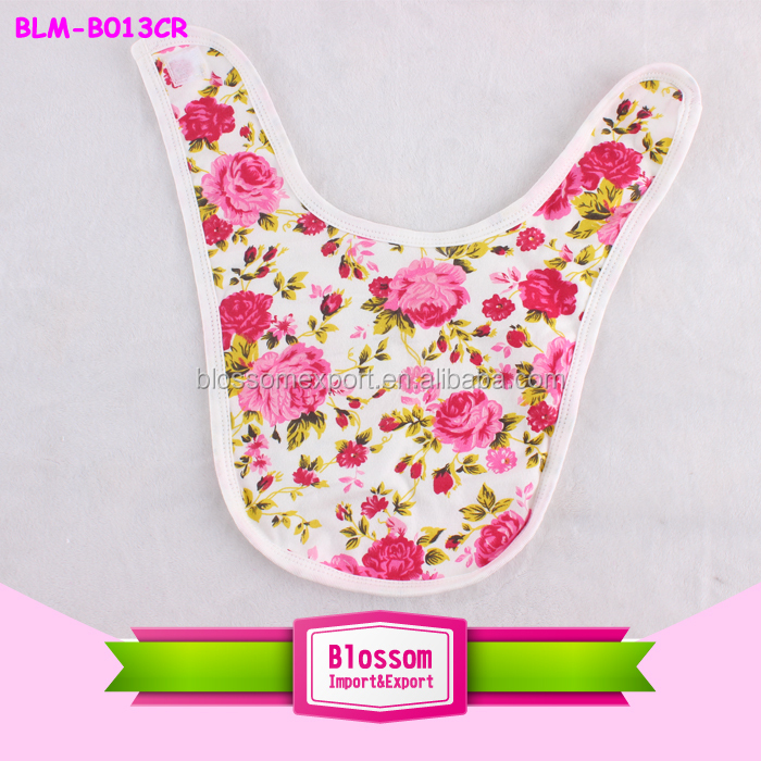 High quality soft cotton cute baby drool bibs chevron baby bandana bibs