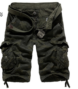 Casual Mens Cargo Pants With Side Pocket Short Cargo Pants For Men