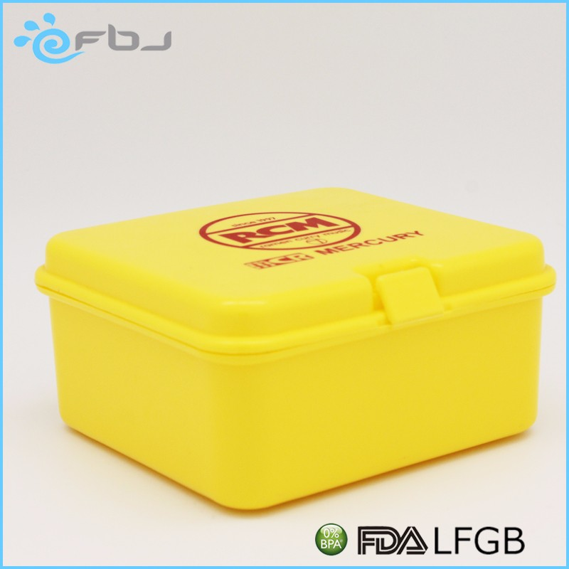 BPA Free Square Reusable Lunch Box for Food Storage