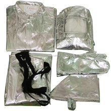 500 degrees full protective aluminized fire proximity suit