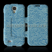 For Samsung Galaxy S4 stamping leather housing