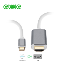 USB type C to HDMI cable with USB charge port adapter cable 100% test before delivery support 4K