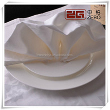 Hot Selling Polyester Fabric Washable and Wrinkle - free Table Napkin Folding