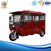Eco-friendly Passenger three wheel enclosed motor tricycle