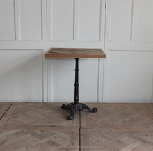 vintage french industrial metal leg cafe <strong>tables</strong> for sale