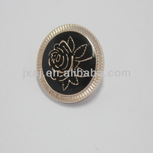 Plastic UV electroplating buttons