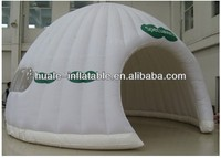 Hot new outdoor white inflatable igloo tent for sale