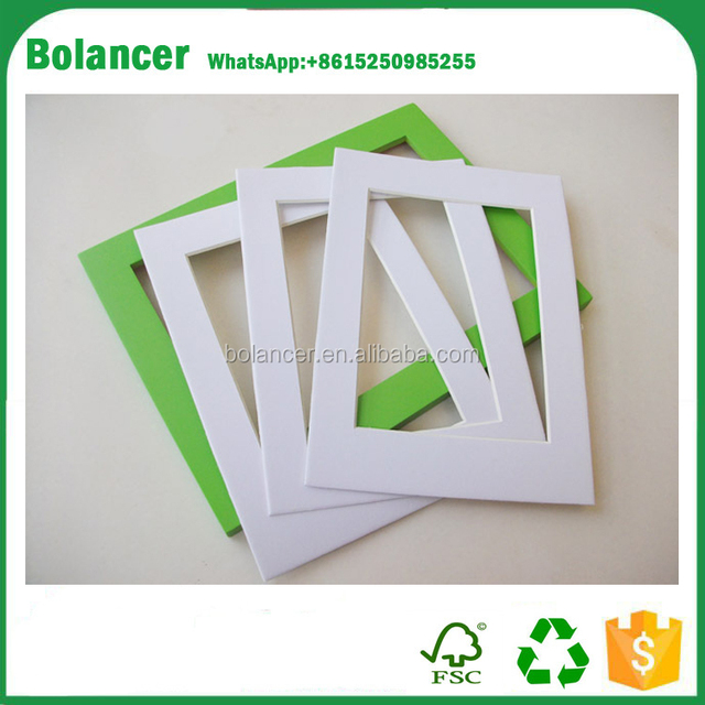 supply promotional cheap photo frame cardboard paper photo frames