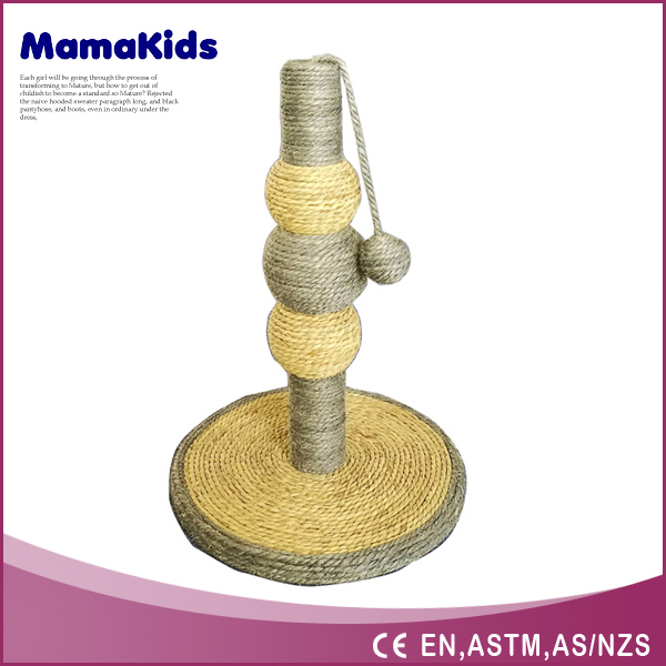 2016 China Wholesale Websites Sisal Simple Cat Tree Parts