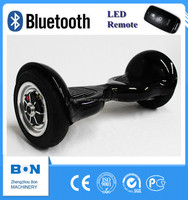 Bon 10 inch 2 wheels Self Balancing Scooter Smart Hover Board with Bluebooth