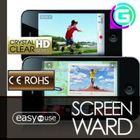Premium imported PET ! Clear Mobile Phone Screen Guard For Iphone 5