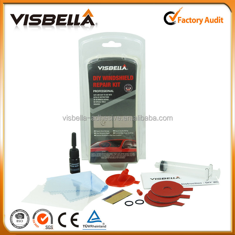 Auto Windscreen /Windshield Repair Kit for glass crack