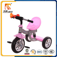 2016 china differential kid tricycle with 3 wheels for sale with high quality