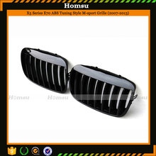 Glossy / matt / m sport color tuning style car racing grill for bmw suv x5 x6 e70 e71